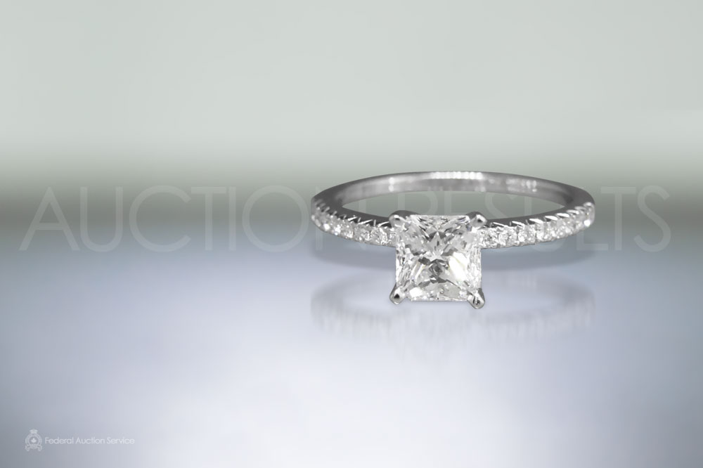 GIA Certified 1.06ct Diamond Ring sold for $8,500