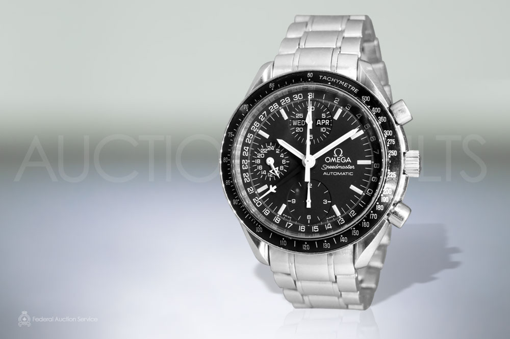 Men's Stainless Steel Omega 'Speedmaster' Automatic Chronograph sold for $1,900